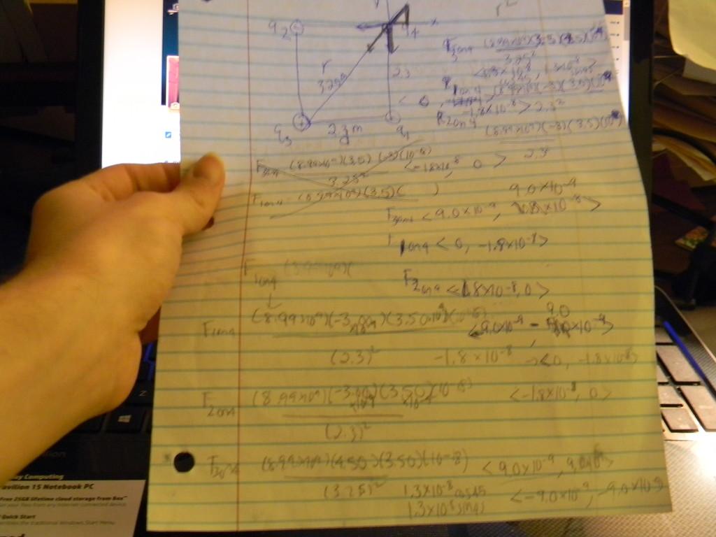 Physics Homework by sfeldphotos
