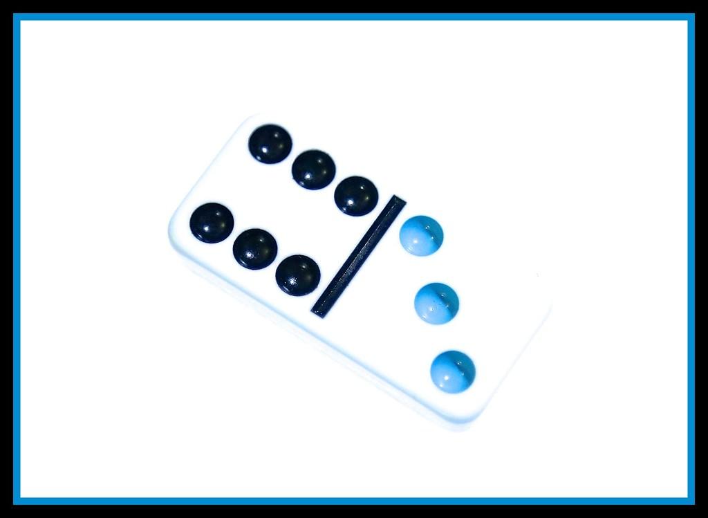High key domino on an iPad by nicolaeastwood