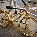 The golden bicycle by vikdaddy