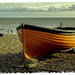 Fishing boat, Bognor beach by ivan