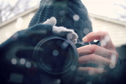 23rd Jan 2015 - Shooting with Icy Fingers