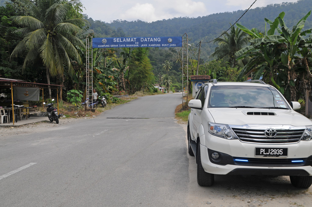 Road to Kampung Bukit Jana by ianjb21