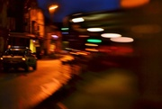 25th Jan 2015 - Village main street - Lensbaby style