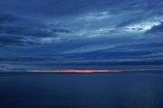 24th Jan 2015 - A Dark Cloudy Sunrise