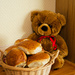 Teddy and wheat buns