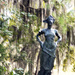 Live Oak - Spanish Moss- Statue