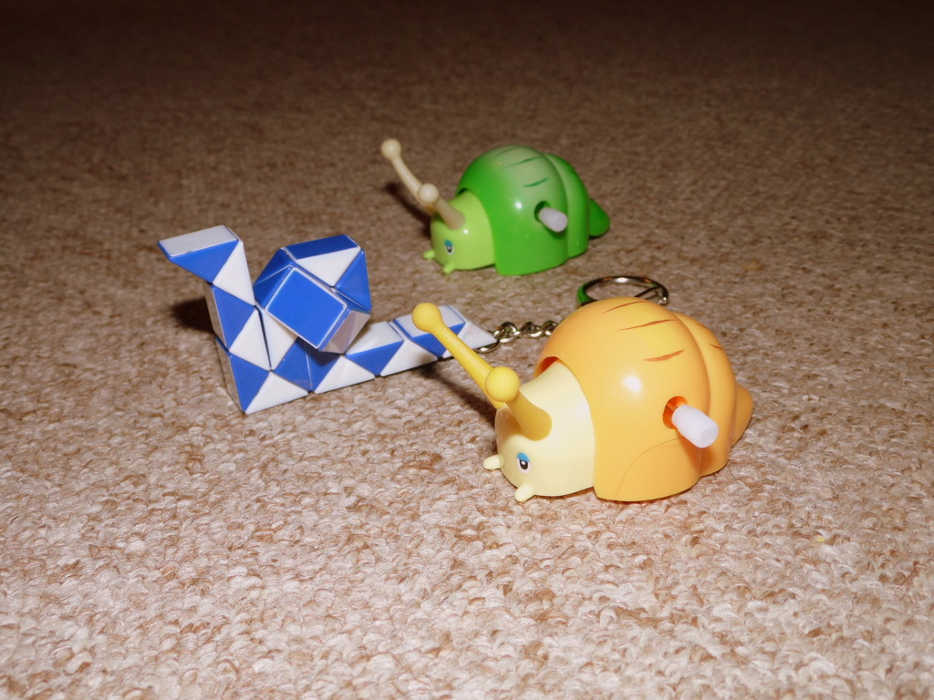 Snail Racing by dragey74