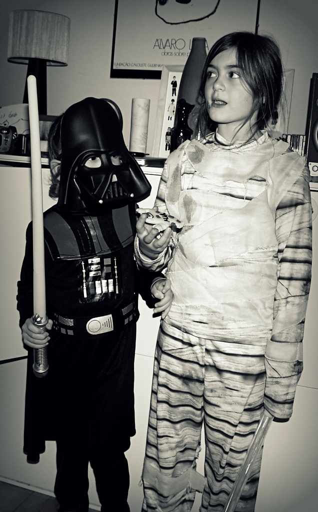 Darth and the Mummy by rich57