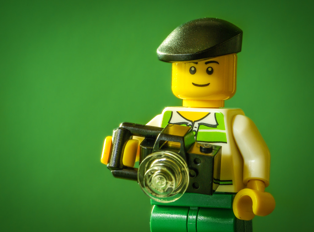(Day 353) - Legographer by cjphoto