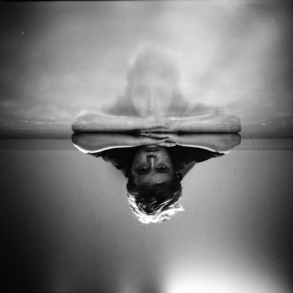 Boy inverted by spanner