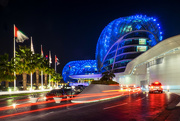 15th Jan 2015 - Day 015, Year 3 - Light Trails At The Yas Viceroy