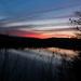 Sunset on the Arkansas - slow shutter speed by milaniet