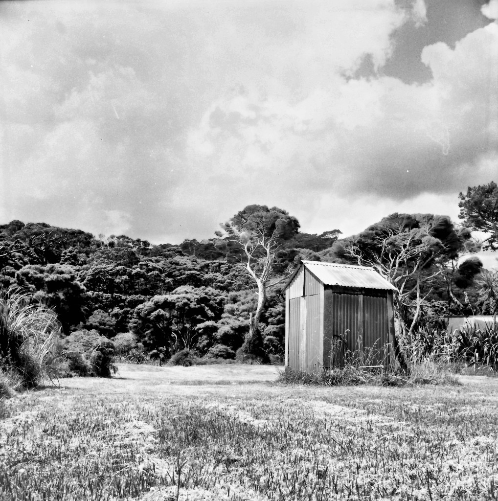 Old shed by spanner