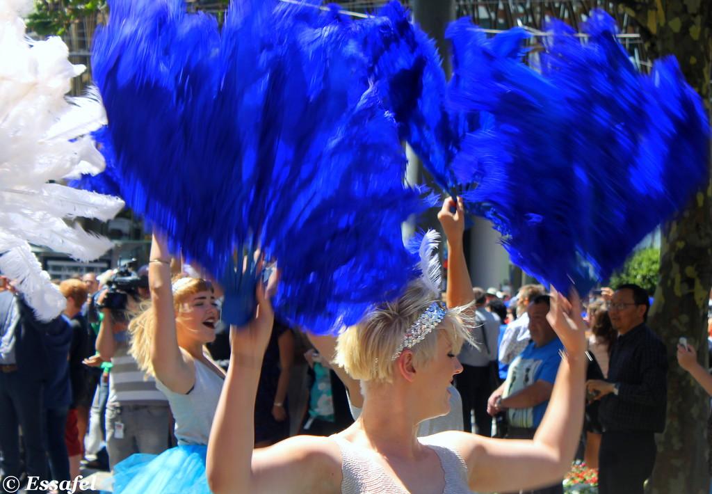 20150205 Wellington Sevens Parade - Argentina by essafel
