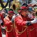 20150207 Wellington Sevens Parade brass reflections