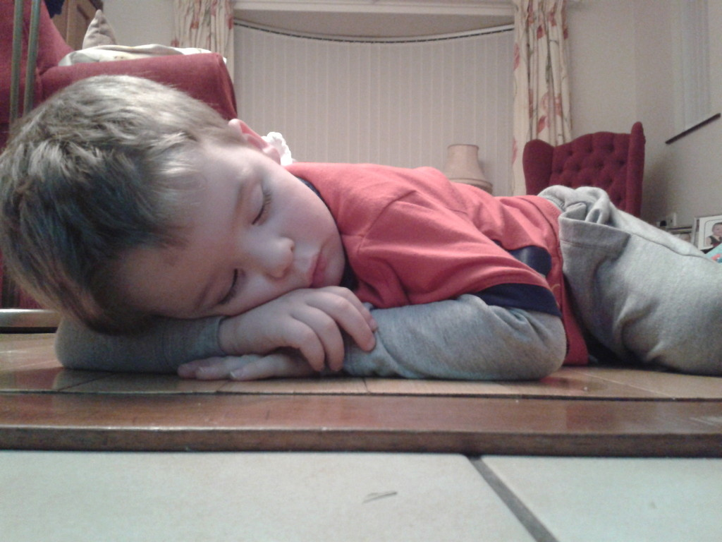 Being 3 is draining....... by greenpeg