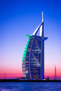 25th Jan 2015 - Day 025, Year 3 - Dusk Over Burj Al Arab
