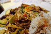 12th Feb 2015 - Mongolian meal