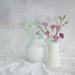 Jugs of flowers by suebarni