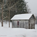 Snowy shed by mccarth1