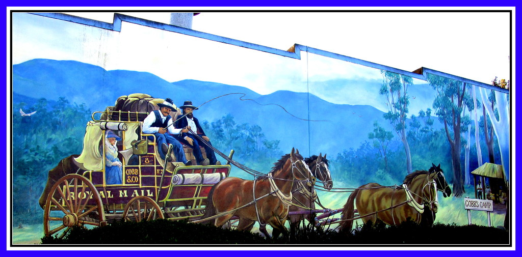 Mail Delivery in the early days. Woombye by 777margo