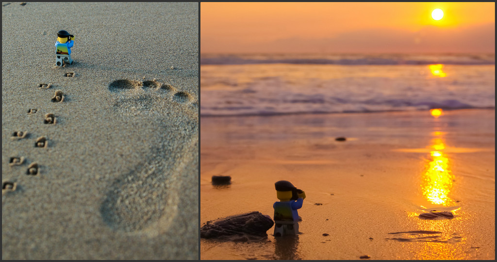 (Day 8) - Toes in the Sand by cjphoto