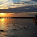 Sunset on the Ashley River at The Battery, Charleston, SC by congaree