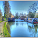 Narrowboats At Stoke Bruerne