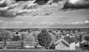25th Feb 2015 - B&W February:  View from Le Manoir du Tertre