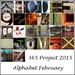 27th February 2015 - Alphabet February Mosaic by pamknowler