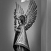 Statue with wings