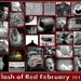 My month of Flash of Red! by homeschoolmom