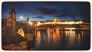 4th Mar 2015 - Nighttime By The Charles Bridge, Prague