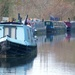 Colourful House Boats on the Oxford Canal by ditzy