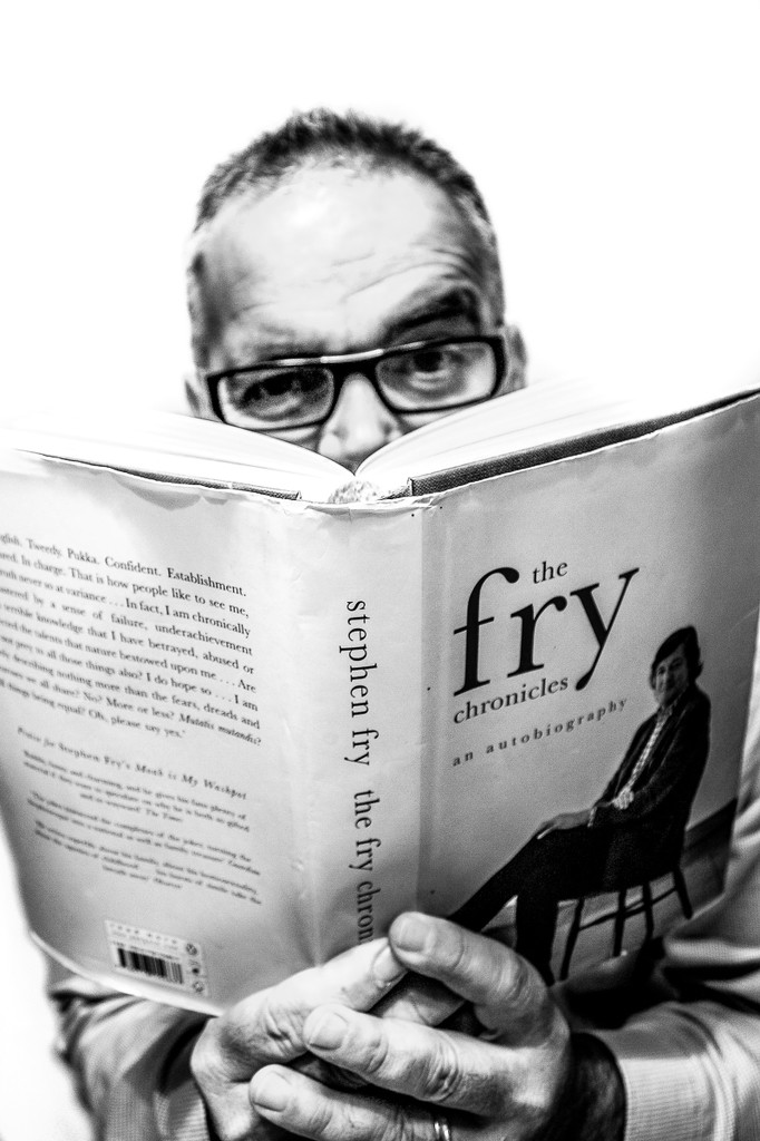 Me and Mr. Fry by graemestevens