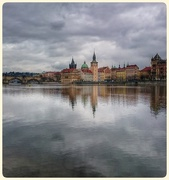 6th Mar 2015 - Reflections On The Vltava, Prague