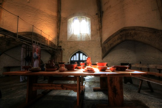 The Abbey kitchen by psychographer