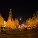 Moon Over Wroclaw Square by taffy