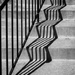 Stair Shadows by rosiekerr