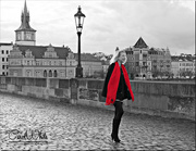 8th Mar 2015 - Girl With The Red Scarf (best viewed on black)