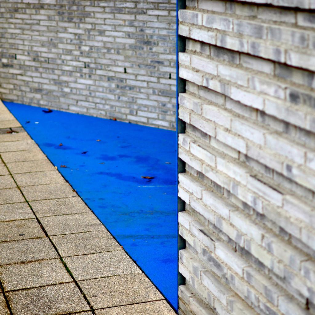 Bricks and blues  by vera365