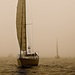 Boats in the Mist by redy4et