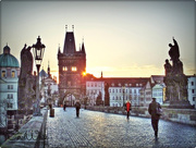 10th Mar 2015 - Sunrise On The Charles Bridge,Prague