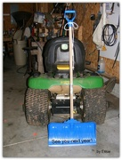 10th Mar 2015 - In honor of our snow shovel!