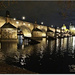 The Charles Bridge By Night,Prague by carolmw