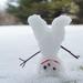 Upside down snowman by loweygrace