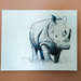 Rhino Painting  by salza