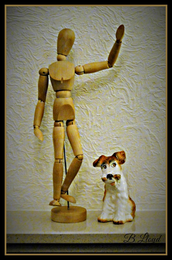 Mr Woody and Doggy   by beryl