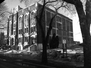 17th Mar 2015 - Masonic Hall in Black and White
