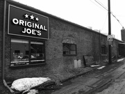 18th Mar 2015 - Original Joes in Black and White
